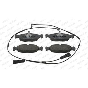 Комплект спирачно феродо, дискови спирачки FDB4749 Corsa B Хечбек (S93) 1.4i 16V (F08, F68, M68) Г.П. 2000
