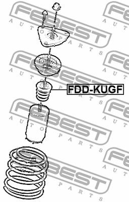 Bump Rubber FEBEST FDD-KUGF rating