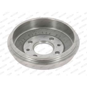 Bremstrommel Trommel-Ø: 185, Br.Tr.Durchmesser außen: 219mm mit OEM-Nummer 4373614
