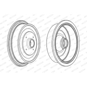 Bremstrommel Trommel-Ø: 230mm, Br.Tr.Durchmesser außen: 290,5mm mit OEM-Nummer 443501615