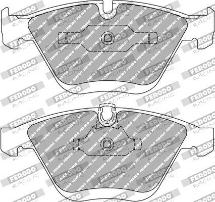 FERODO RACING  FDS1628 Juego de pastillas de freno Ancho 1: 68,5mm, Espesor 1: 19,2mm