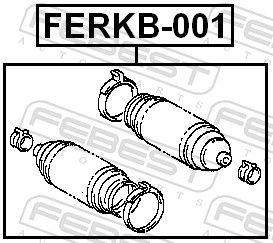 Bellow, steering FEBEST FERKB-001 rating