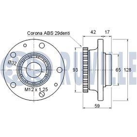 Freilauf Lichtmaschine VW PASSAT Variant (3B6) 1.9 TDI 130 PS ab 11.2000 RUVILLE Generatorfreilauf (55451) für