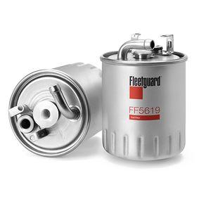 Kraftstofffilter Höhe: 125mm mit OEM-Nummer A6680920101