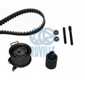 RUVILLE Zahnriemensatz 5573970 für AUDI A3 (8P1) 1.9 TDI ab Baujahr 05.2003, 105 PS
