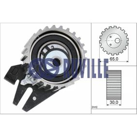 Tensioner Pulley, timing belt Ø: 65,00mm with OEM Number 636 317