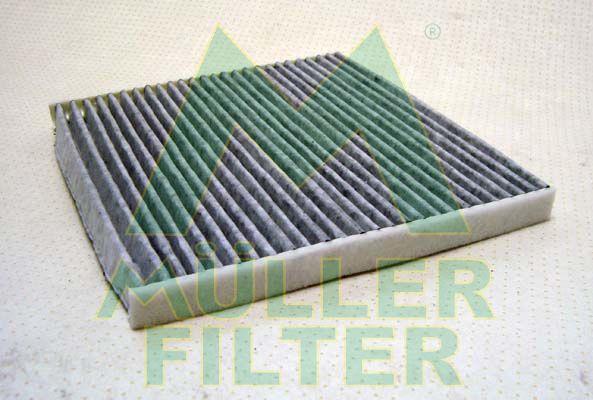 MULLER FILTER  FK001 Filter, interior air Length: 194mm, Width: 217mm, Height: 16mm
