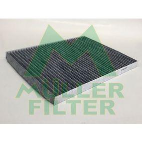 Filter, Innenraumluft Länge: 290mm, Breite: 225mm, Höhe: 20mm mit OEM-Nummer 5 120 243 02