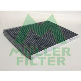 Filter, Innenraumluft Länge: 290mm, Breite: 225mm, Höhe: 20mm mit OEM-Nummer 60 814 643