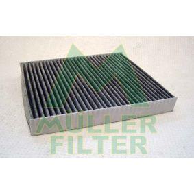 Filter, Innenraumluft Länge: 252mm, Breite: 216mm, Höhe: 30mm mit OEM-Nummer 6Q0 819 653B