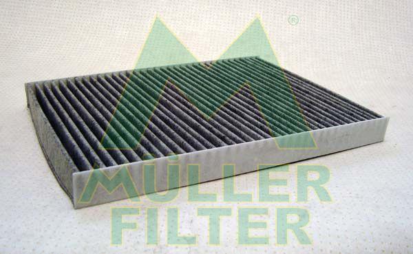 MULLER FILTER  FK111 Filter, interior air Length: 280mm, Width: 204mm, Height: 25mm