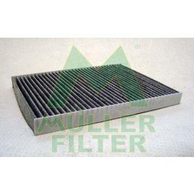 Filter, Innenraumluft Länge: 280mm, Breite: 204mm, Höhe: 25mm mit OEM-Nummer 8L0091800