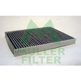 Filter, interior air Length: 280mm, Width: 204mm, Height: 25mm with OEM Number 1H0 091 800 SE