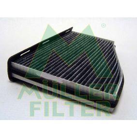 Filter, Innenraumluft Länge: 287mm, Breite: 215mm, Höhe: 34mm mit OEM-Nummer 1K2819653B+
