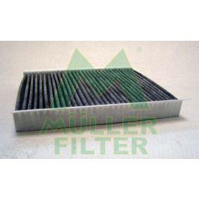 Filter, Innenraumluft Länge: 255mm, Breite: 230mm, Höhe: 30mm mit OEM-Nummer 6447LN