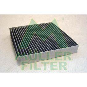 Filter, Innenraumluft Länge: 222mm, Breite: 225mm, Höhe: 35mm mit OEM-Nummer 6447 SZ