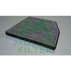 MULLER FILTER  FK143 Filter, Innenraumluft Länge: 236mm, Breite: 207mm, Höhe: 30mm