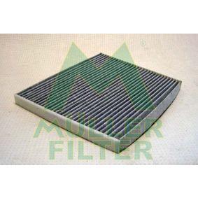 Filter, Innenraumluft Länge: 215mm, Breite: 265mm, Höhe: 20mm mit OEM-Nummer 18 08 012