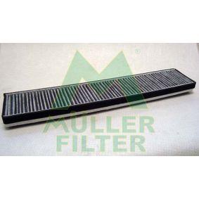 Filter, Innenraumluft Länge: 518mm, Breite: 106mm, Höhe: 30mm mit OEM-Nummer 7 180 932