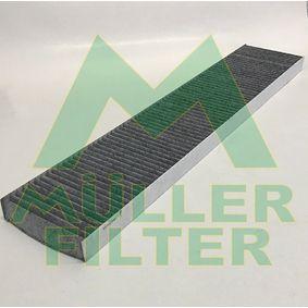 Filter, Innenraumluft Länge: 536mm, Breite: 109mm, Höhe: 25mm mit OEM-Nummer 95VW-19N-551-AA