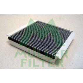 Filter, Innenraumluft Länge: 225mm, Breite: 204mm, Höhe: 40mm mit OEM-Nummer 668 09 9 03