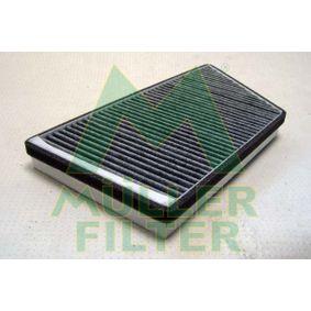 MULLER FILTER  FK180 Filter, Innenraumluft Länge: 344mm, Breite: 167mm, Höhe: 30mm