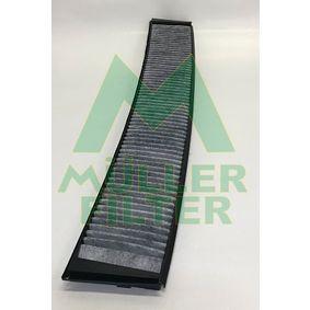 Filter, Innenraumluft Länge: 660mm, Breite: 95mm, Höhe: 20mm mit OEM-Nummer 6431 9 257 504