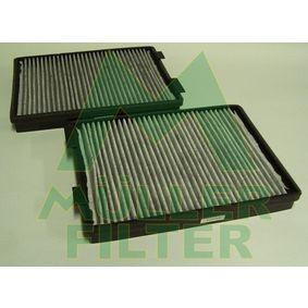 Filter, Innenraumluft Länge: 270mm, Breite: 200mm, Höhe: 30mm mit OEM-Nummer 64118391200