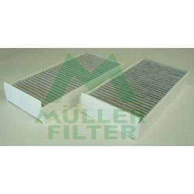 Filter, Innenraumluft Länge: 232mm, Breite: 116mm, Höhe: 32mm mit OEM-Nummer 6411 9 321 875