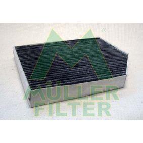 Filter, Innenraumluft Länge: 279mm, Breite: 242mm, Höhe: 35mm mit OEM-Nummer 8K0819439 A