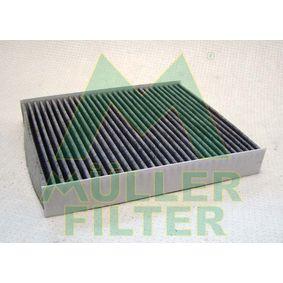 Filter, Innenraumluft Länge: 240mm, Breite: 205mm, Höhe: 35mm mit OEM-Nummer 52420930