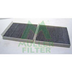Filter, Innenraumluft Länge: 247mm, Breite: 206mm, Höhe: 30mm mit OEM-Nummer 6411 9163 329