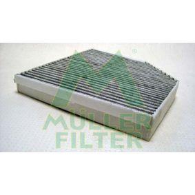 Filter, Innenraumluft Länge: 255mm, Breite: 252mm, Höhe: 35mm mit OEM-Nummer 4H0-819-439