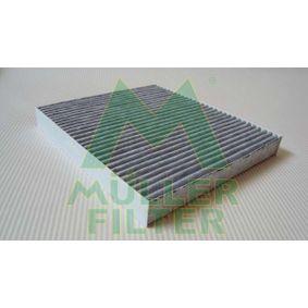 Filter, Innenraumluft Länge: 216mm, Breite: 195mm, Höhe: 25mm mit OEM-Nummer K05058381AA