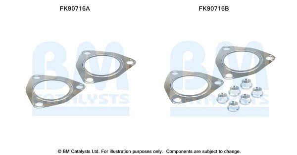 BM CATALYSTS  FK90716 Montagesatz, Katalysator