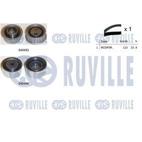 Spannrolle, Zahnriemen Ø: 50,00mm mit OEM-Nummer 13505-87102