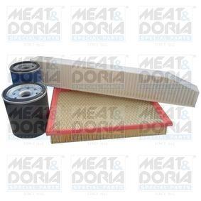 Kit de filtres avec OEM numéro 4446335