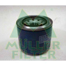 Ölfilter Ø: 95mm, Innendurchmesser 2: 63mm, Innendurchmesser 2: 57mm, Höhe: 75mm mit OEM-Nummer 15400 PA6 004