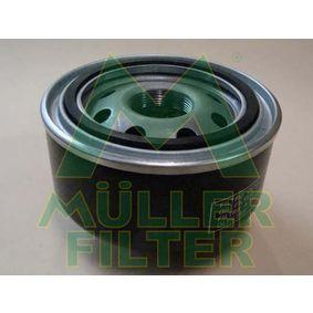 Filtre à huile Hauteur: 95mm, Diamètre intérieur 2: 72mm, Diamètre intérieur 2: 62mm avec OEM numéro 9975161