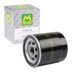 Filtro de aceite FO643 CX-5 (KE, GH) 2.2D AWD ac 2013