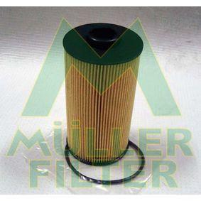 MULLER FILTER  FOP209 Ölfilter Ø: 82mm, Innendurchmesser: 25mm, Innendurchmesser 2: 39mm, Höhe: 155mm