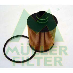 Ölfilter Ø: 71mm, Innendurchmesser: 17mm, Innendurchmesser 2: 25mm, Höhe: 101mm mit OEM-Nummer 95511489