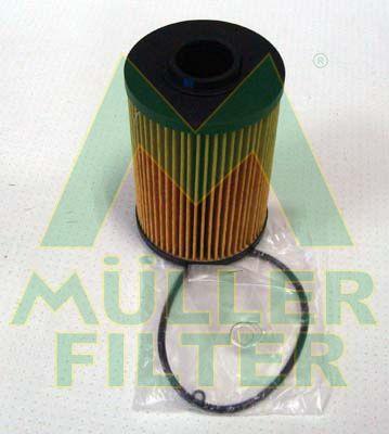 MULLER FILTER  FOP276 Ölfilter Ø: 82mm, Innendurchmesser: 27mm, Innendurchmesser 2: 27mm, Höhe: 129mm