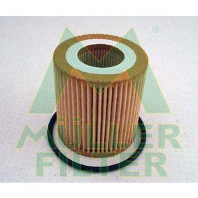 MULLER FILTER  FOP282 Ölfilter Ø: 64mm, Innendurchmesser: 31mm, Höhe: 69mm