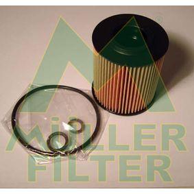 MULLER FILTER  FOP285 Ölfilter Ø: 66mm, Innendurchmesser: 21mm, Höhe: 77mm