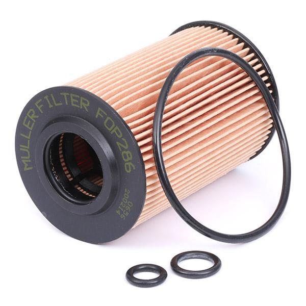 Engine oil filter MULLER FILTER FOP286 rating