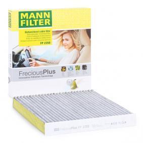 FP 2358 MANN-FILTER FP 2358 original quality