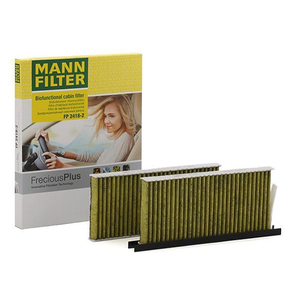 Innenraumfilter FP 2418-2 MANN-FILTER FP 2418-2 in Original Qualität