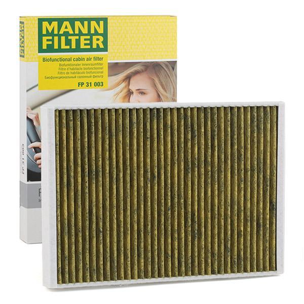 Innenraumfilter FP 31 003 MANN-FILTER FP 31 003 in Original Qualität