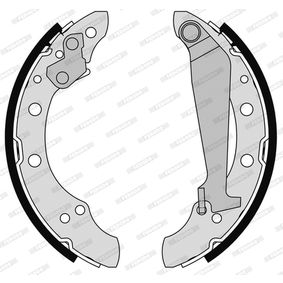 Bremsbackensatz Trommel-Ø: 200mm, Breite: 40mm mit OEM-Nummer 6Y0698001